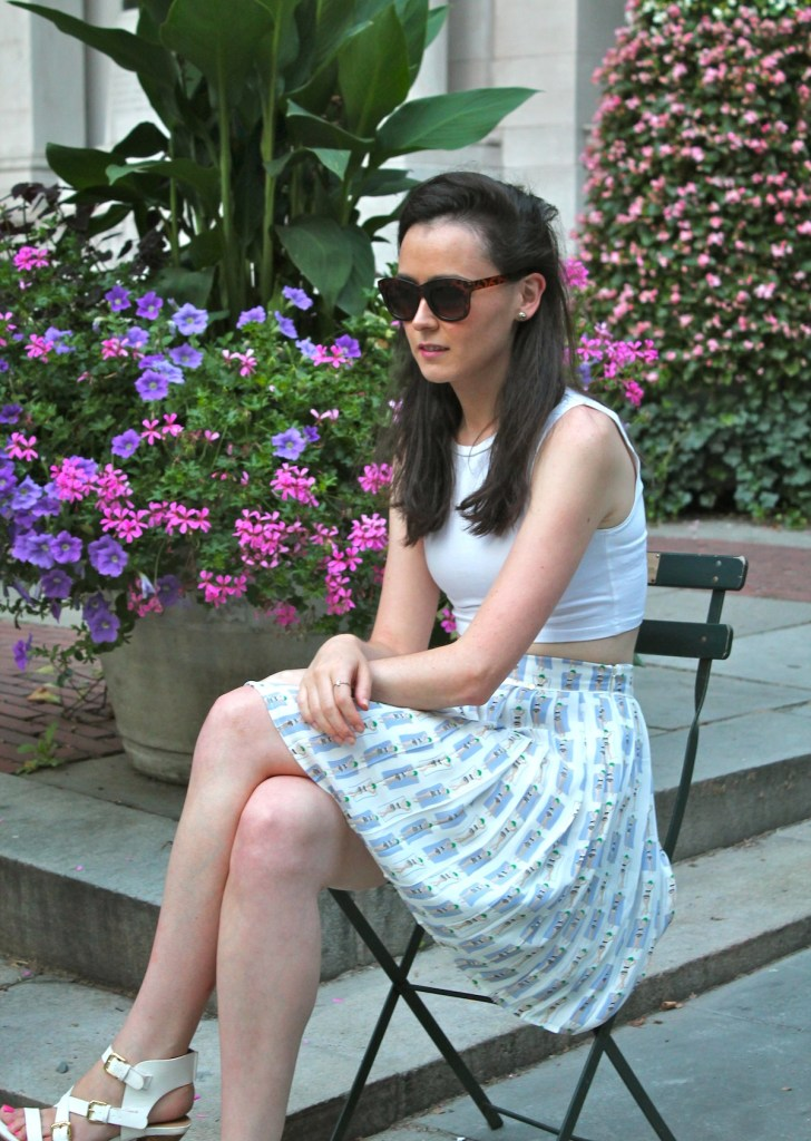 irish fashion: pleated skirt 9