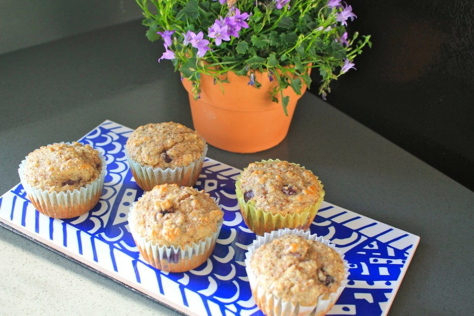 Gluten, dairy and sugar free blueberry muffins 3