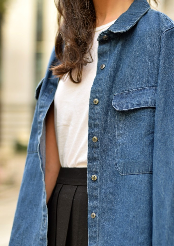 Irish fashion: denim shirt 7