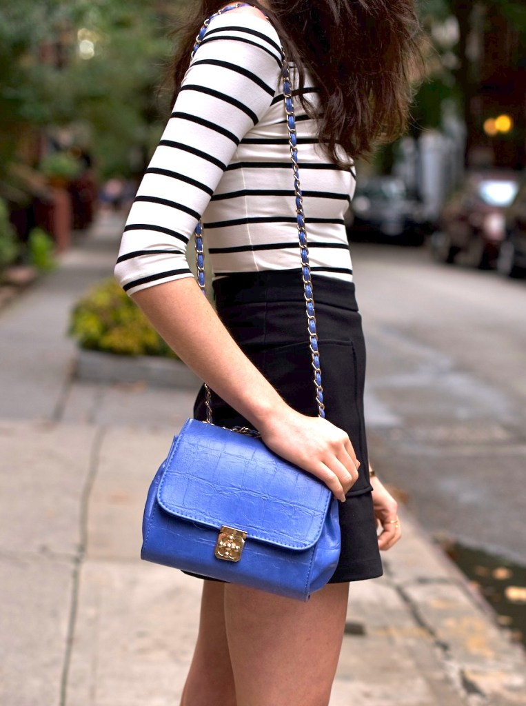 Irish fashion: Stripe Top and Lace Up Flats 6