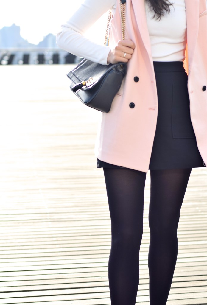 Pink Sleeveless Blazer 12
