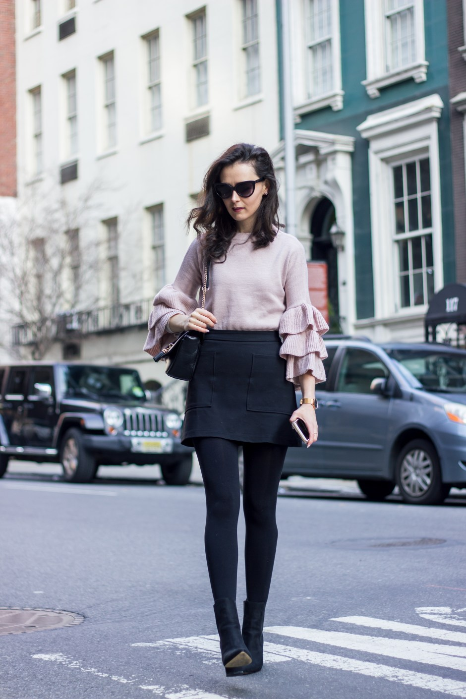 NYC Blogger: Bell Sleeve Sweater 13