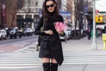 NYC Blogger: All Black Everything with OTK boots