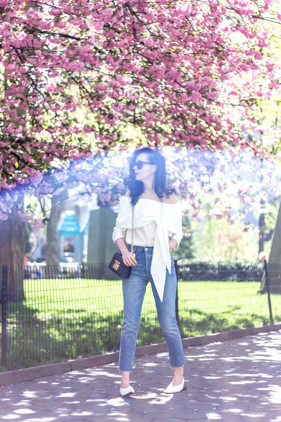 NYC Blogger: Off The Shoulder White Top 5