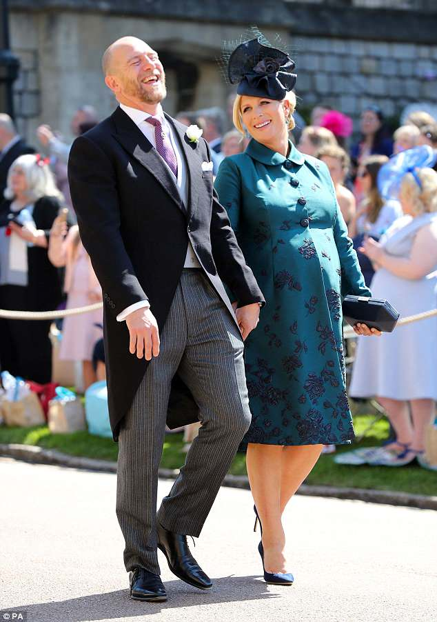 Royal Wedding Zara Tindall