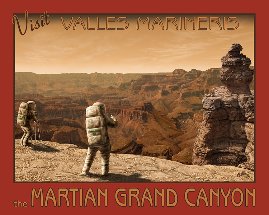 Visit Valles Marineris – Mars