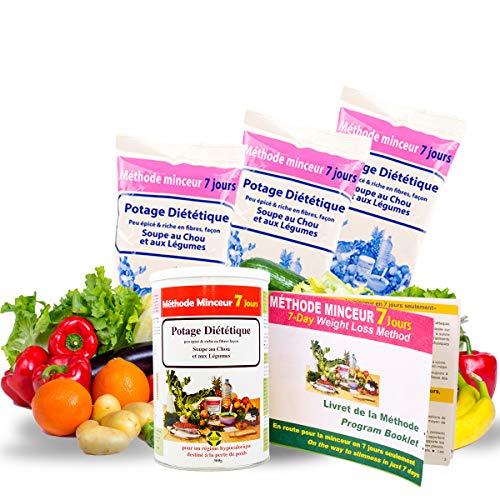 84 Shake For Slim, Zuppa Di Cavolo Scottatura Grassa Per Gli Uomini E Le Donne, Perdita di Peso Veloce ed Efficace, Ricco di Proteine e Fibre, Vitamine, Brochure Metodo Disponibili