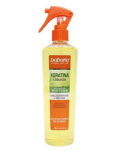 Babaria Natural Hair Line Keratina Trattamento dei Capelli