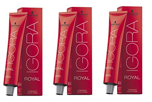 Schwarzkopf - Set di tinture per capelli Igora Royal 9–98,3x 60ml