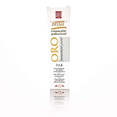 Tinta per Capelli Professionale Colore Cioccolato New Color Senza Ammoniaca 5/07 Permanente 100ml Made in Italy