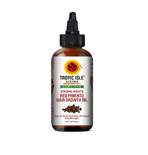 Tropic Isle Strong Roots Red Pimento Hair Growth Oil, 4 Ounce by Tropic Isle