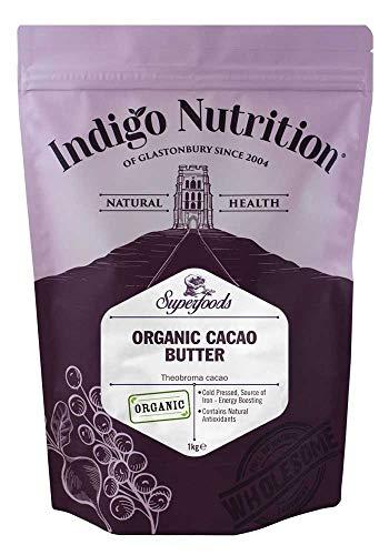 Indigo Herbs Burro di Cacao Biologico 1kg