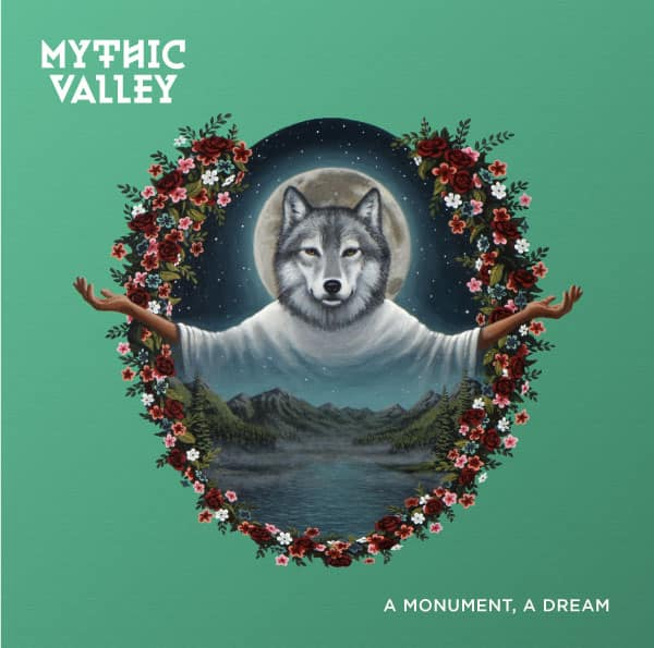 Mythic Valley with wolf head