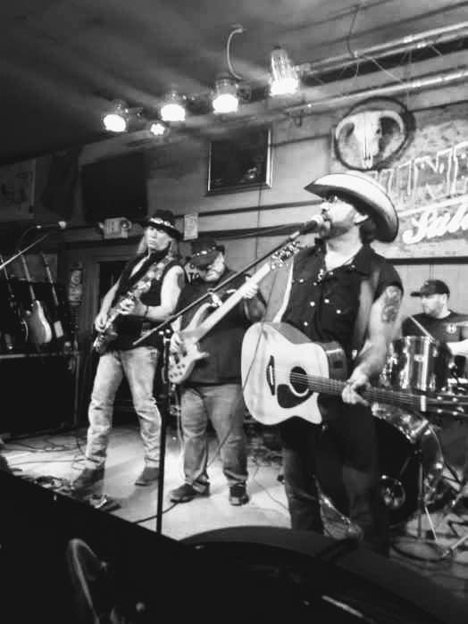 Shakedown Country live black and white