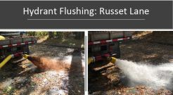 Hydrant flushing will begin next week and continue through the end of the month. (Photo courtesy of the Lynnfield Center Water District)