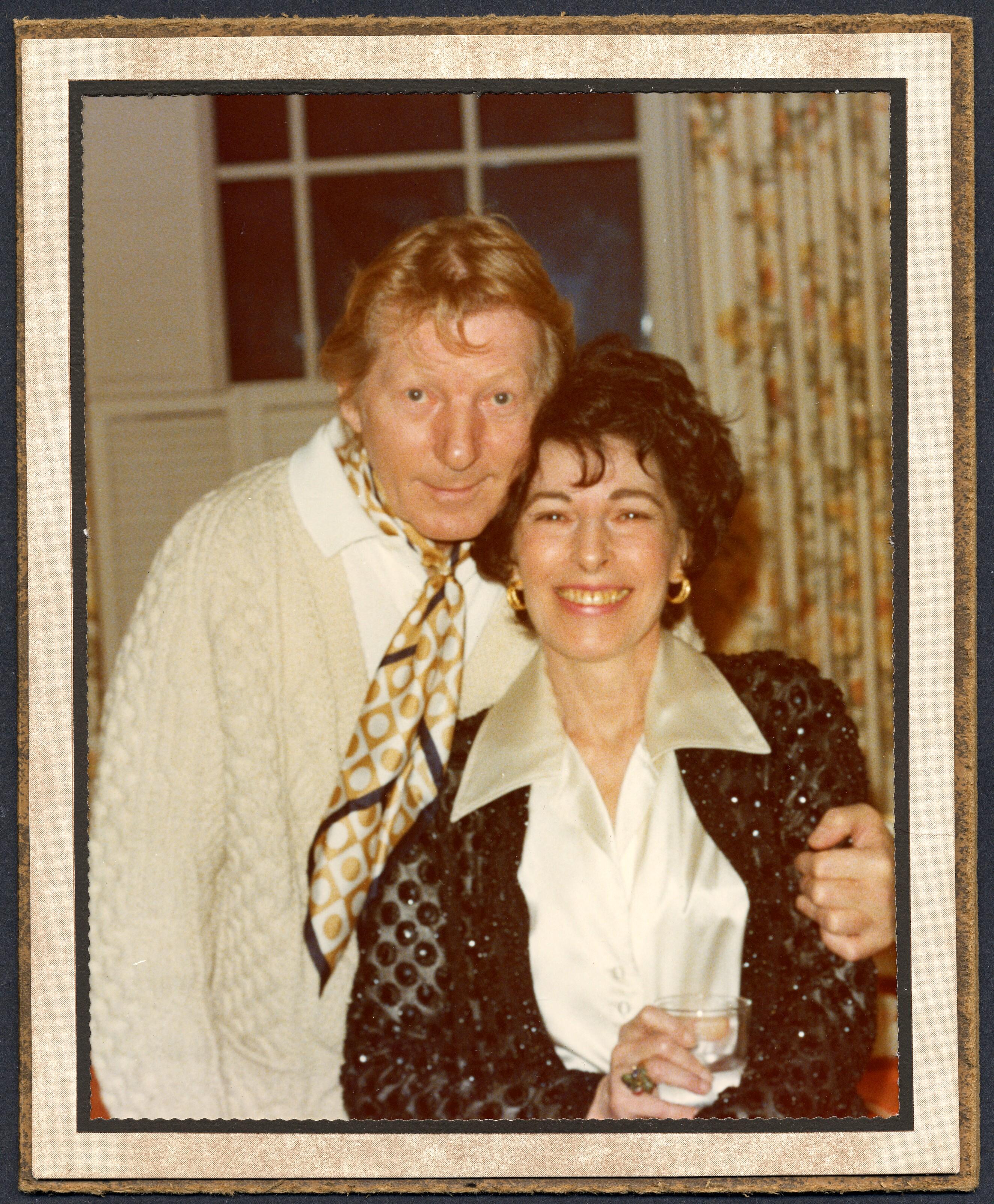 Danny Kaye And Sylvia Fine Ca 1980 Library Of Congress