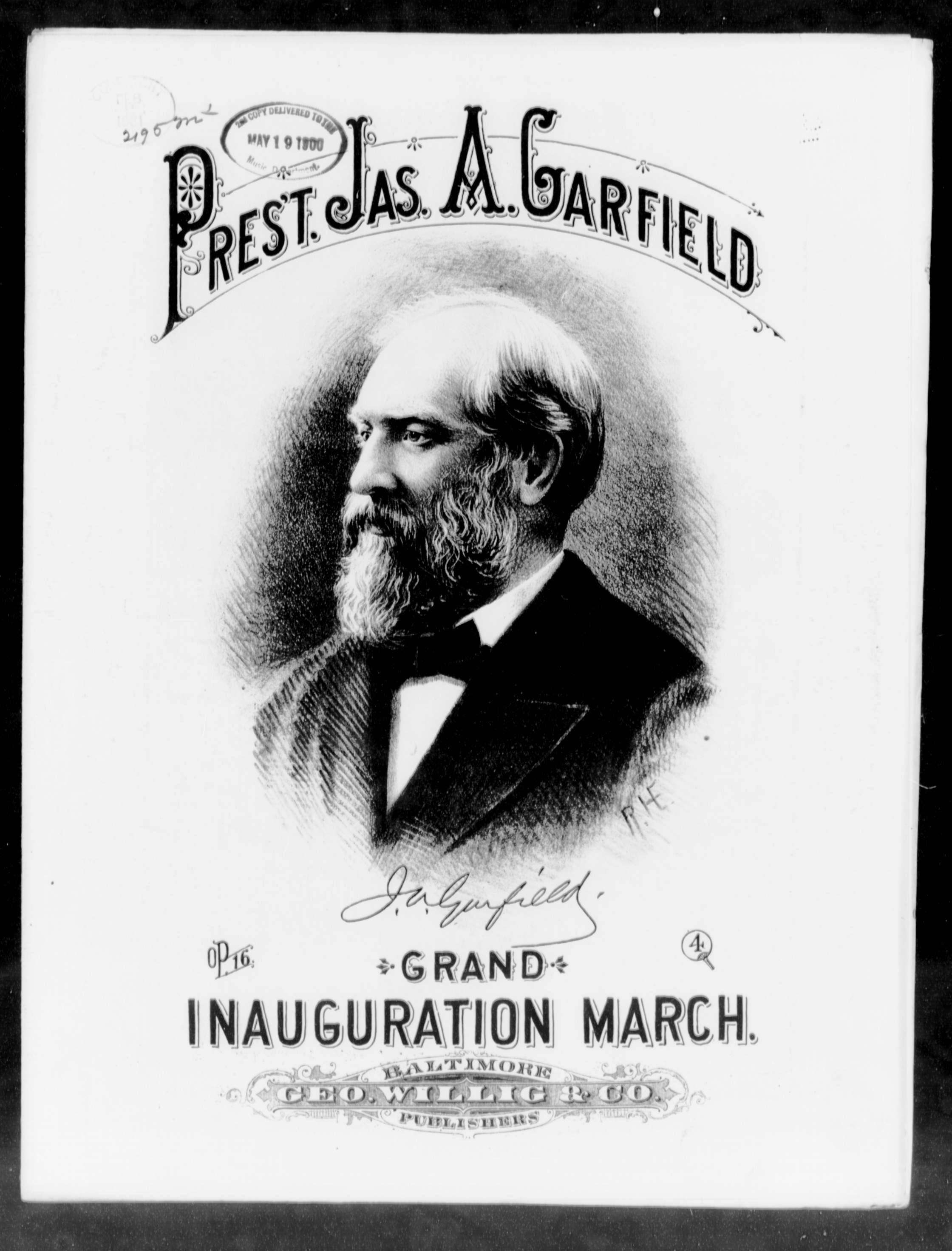 President James A Garfield S Grand Inauguration March