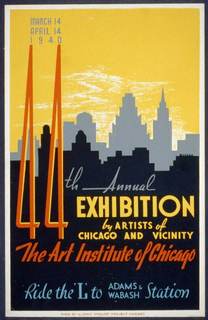 44th annual exhibition by artists of Chicago and vicinity--The Art Institute of Chicago