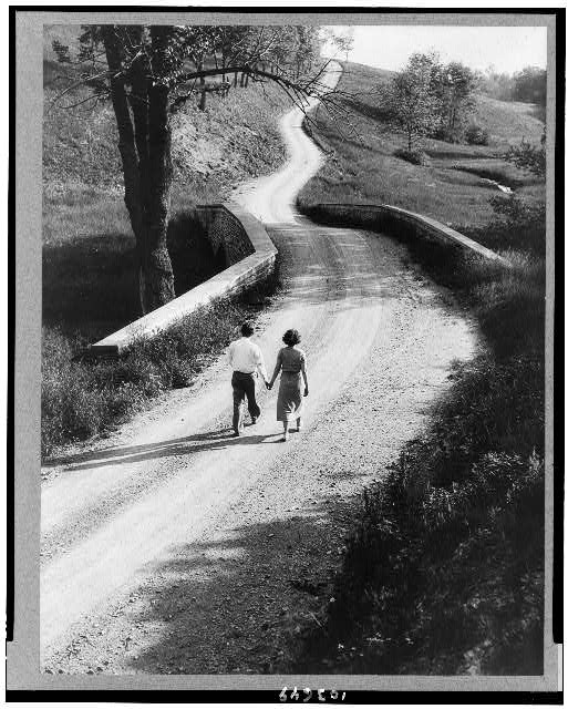 A country road in Pennsylvania
