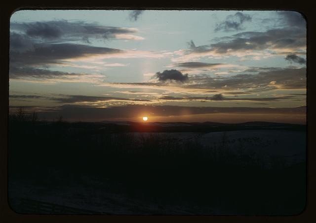 [Sunrise or sunset]