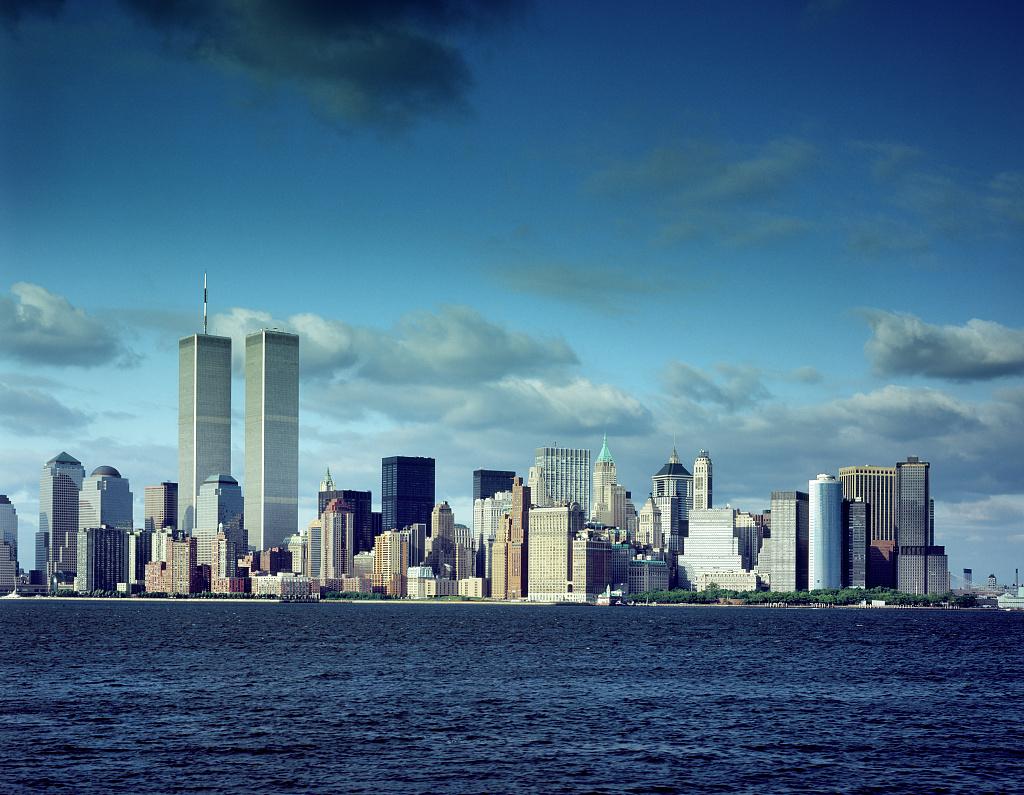 Image result for new york skyline pre 9/11