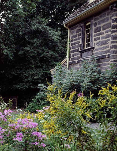 Bartram's Garden, America's oldest botanical garden in west Philadelphia, Pennsylvania