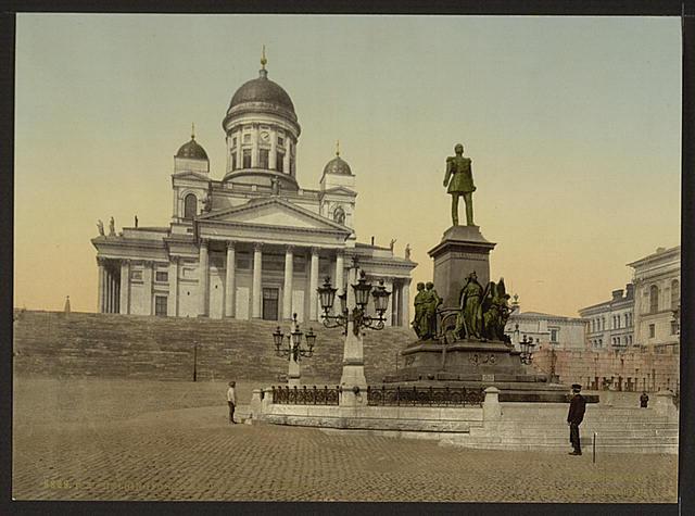 [Monument of Alexander II, Helsingfors, Russia, i.e., Helsinki, Finland]