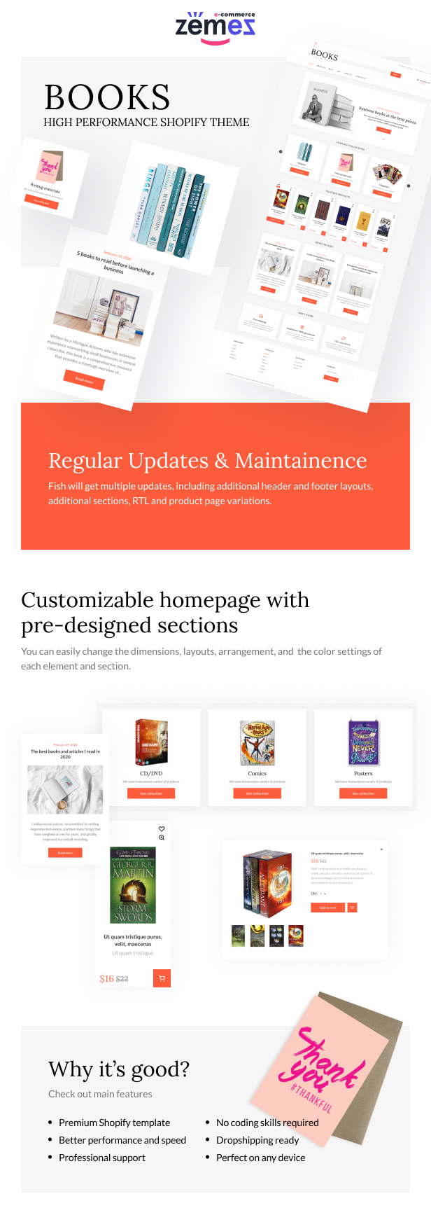 Shopify Books Online Store Template - 1