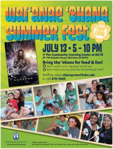 Waianae ohana summer fest