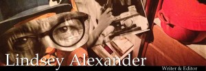 Lindsey Alexander Writer & Editor banner
