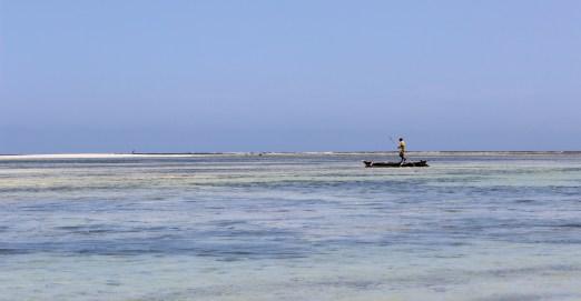 A local fisherman, Diani Beach, Kenya