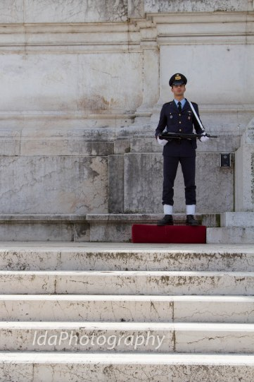 Standing Guard, Rome, Italy