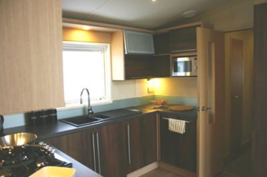 Kitchen in the Swift Champagne