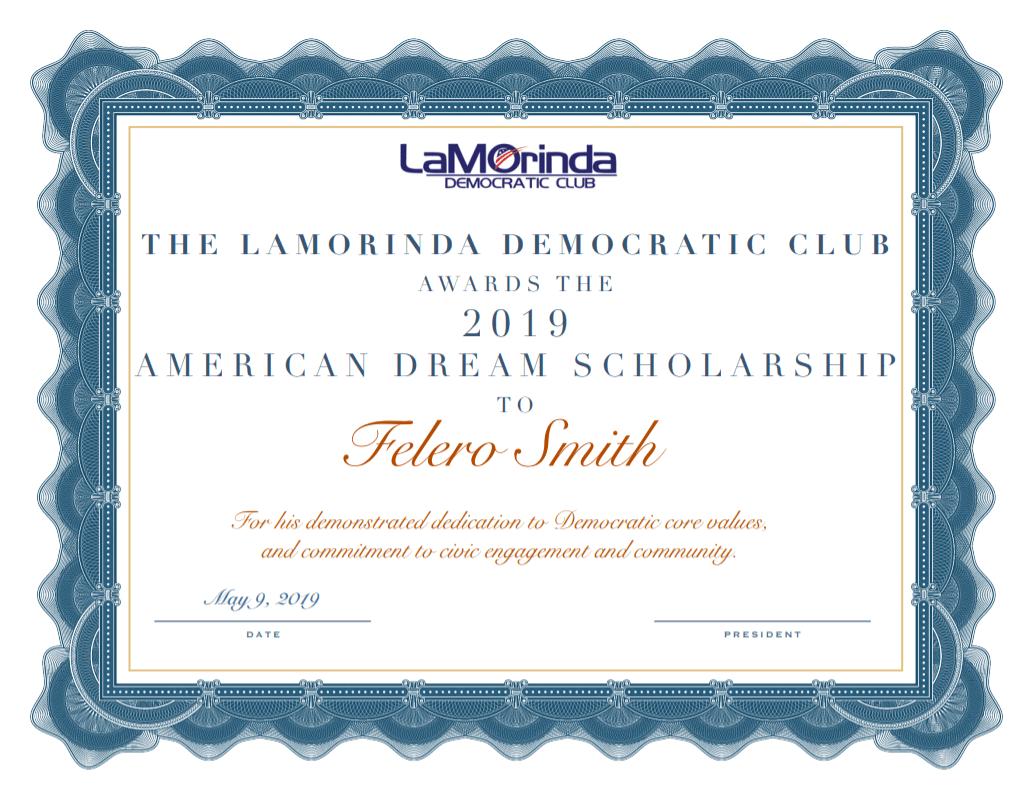 2019 scholarship award pic