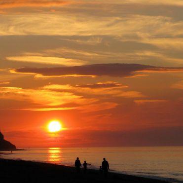 Sunsetting over Cromer beach Photographer: Angie Watkins