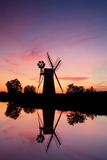 Turf Fen Mill, How Hill, Norfolk Photographer Chris Herring