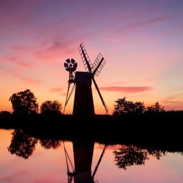 Turf Fen Mill, How Hill, Norfolk Photographer Chris Herring