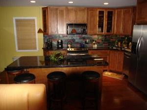 Brown Kitchen Granite Countertops