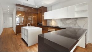 Brown Quartz Ceasarstone Countertops