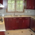 Granite Countertops with Full Height Backsplash