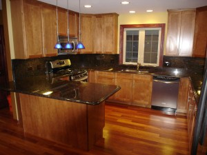 Granite countertops from Tan Brown