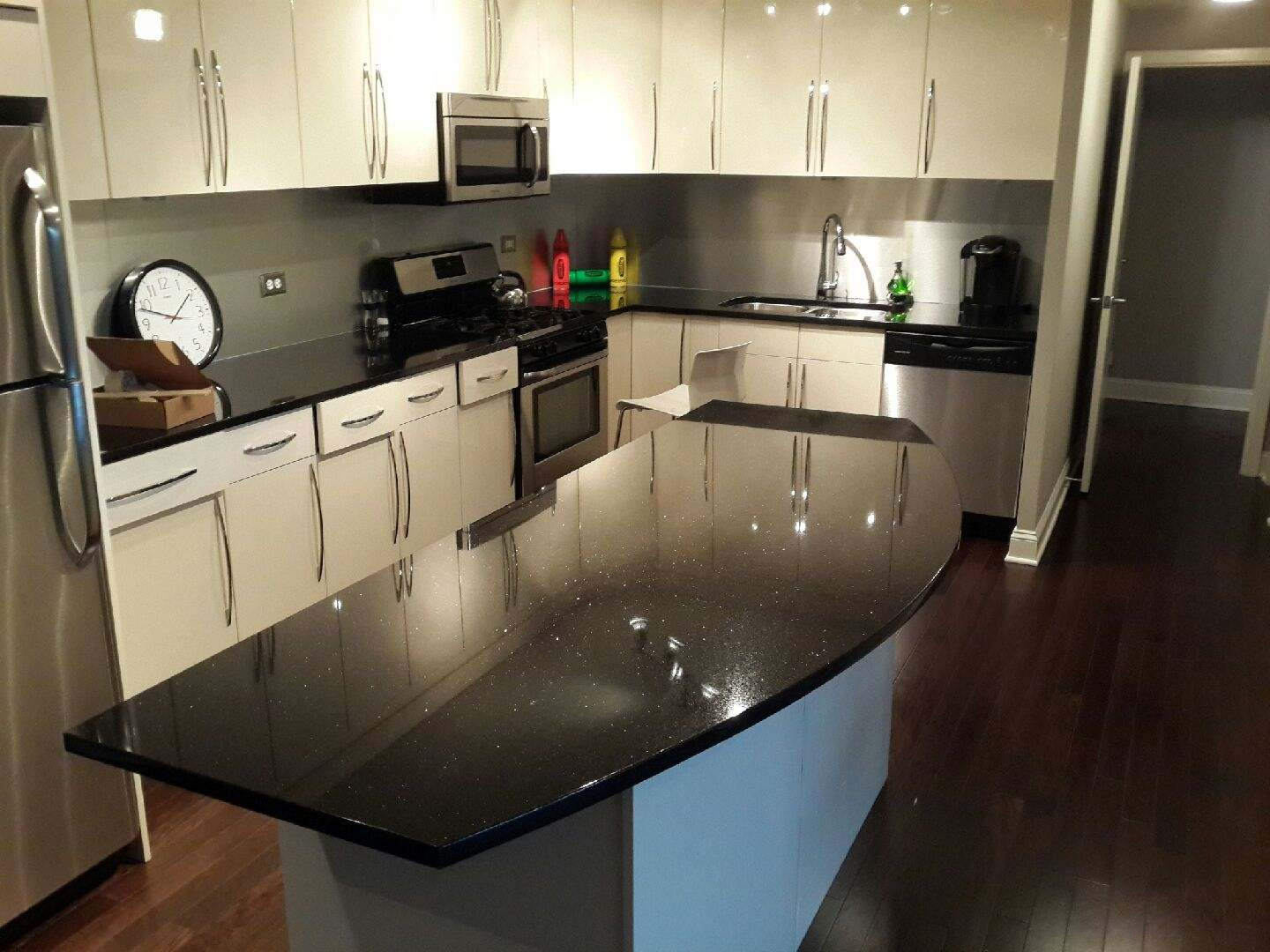 Kitchen Countertops Chicago Archives - LDK Countertops ... on Black Countertops  id=56328