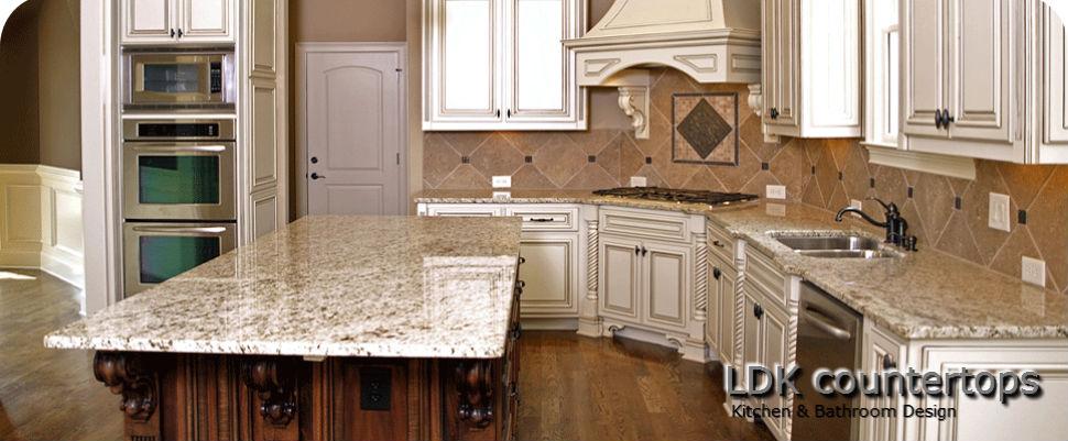 Deerfield Granite Countertops - Giallo Ornamental