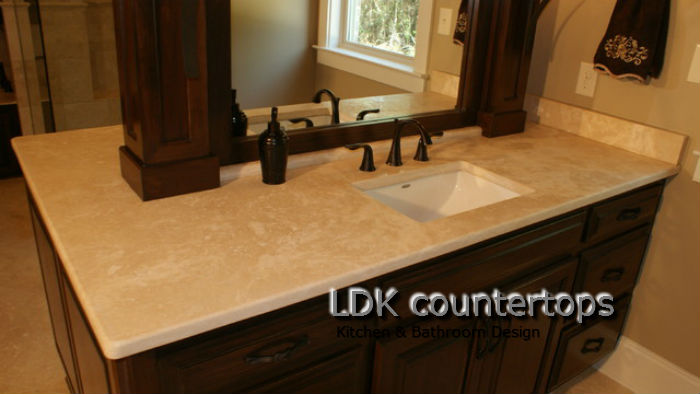Travertine Chicago Travertine Fabricator Ldk Countertops Ldk Countertops