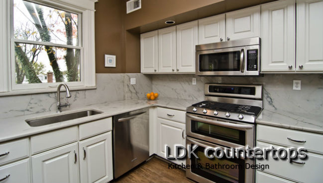 White Macuba Countertops