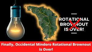 occidental mindoro rotational brownout is over
