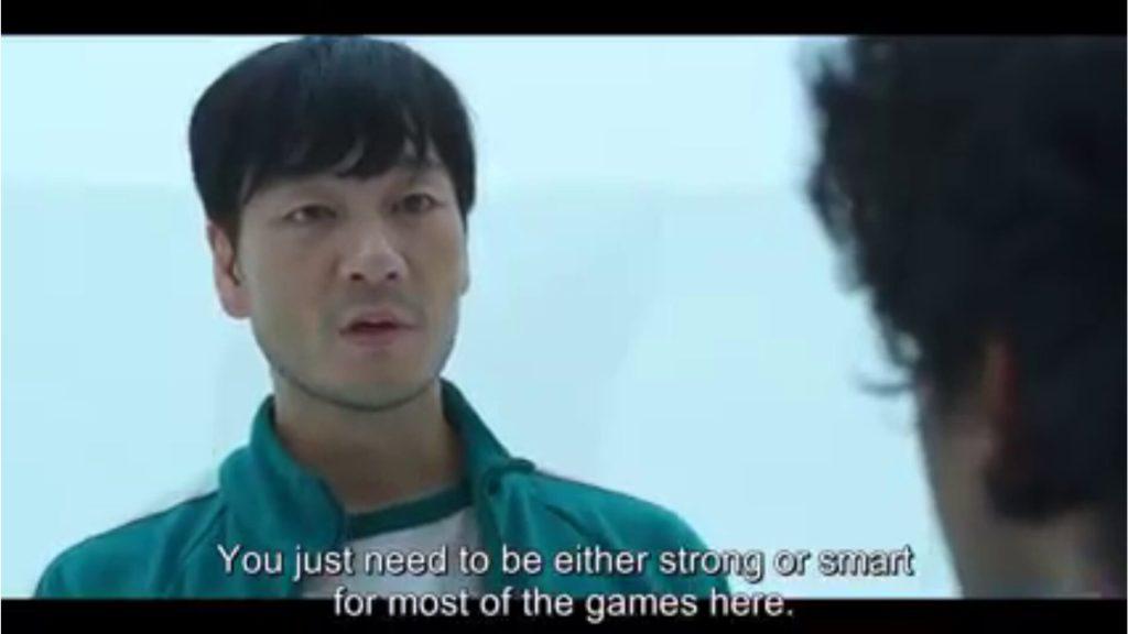 sang-woo giving advise to ali