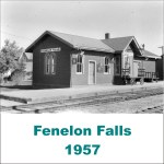Fenelon Falls Station 1957