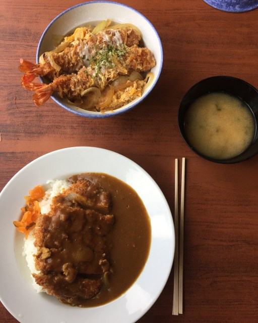 You can get Katsu in other restaurants througout Japan