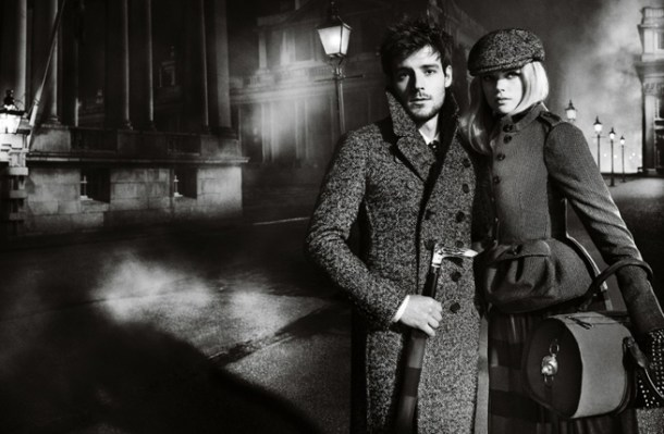 Burberry casts Gabriella Wilde And Roo Panes in Autumn/Winter 2012 campaign